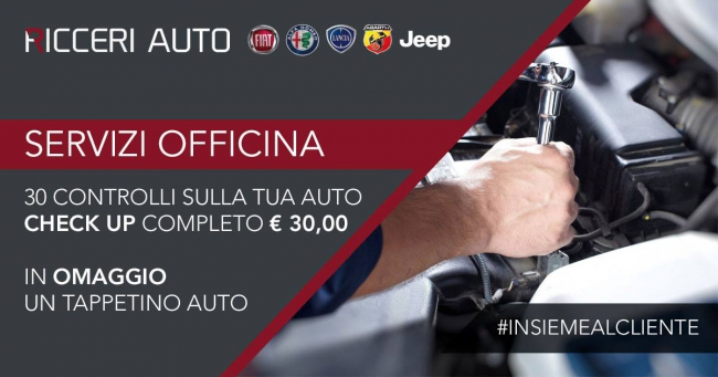 Check up auto Ricceri Auto Follonica